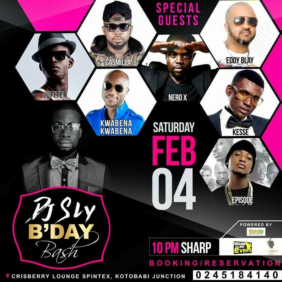 Unstoppable DJ Sly of WatsUp TV to Celebrate Birthday Party