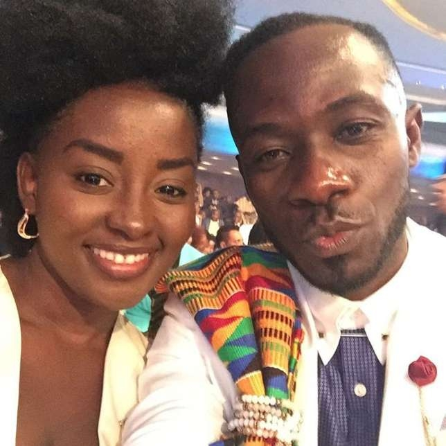 There's no bad blood between McBrown and I - Okyeame Kwame's wife