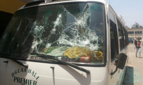 UCC, visiting students clash,10 injured