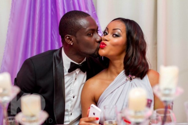 Chris Attoh Finally Reacts to Rumors that his Marriage to Damilola is CRASHING