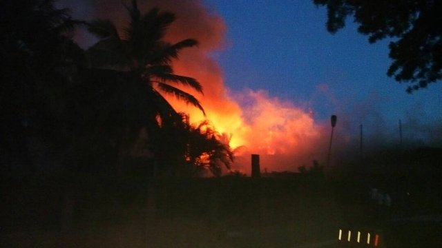 GN Bank in Coconut Grove Regency Compound gut in fire