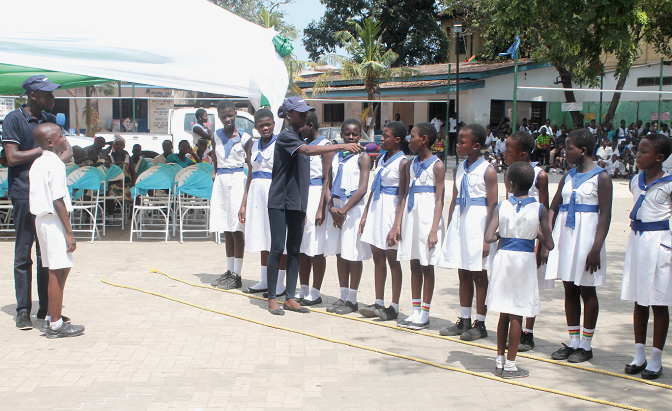 Road safety programme to secure safety of children