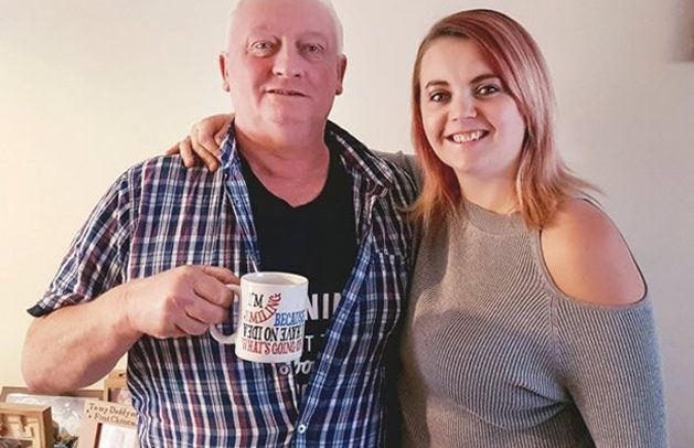 Father Drinks His Daughter's Breast Milk To Help Beat Bowel Cancer