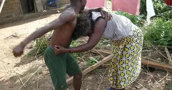 Man seizes the pant of her wife's friend in Lagos, then this happens