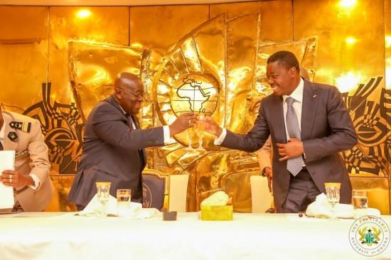 President advocates for 24-hour opening of Ghana-Togo borders
