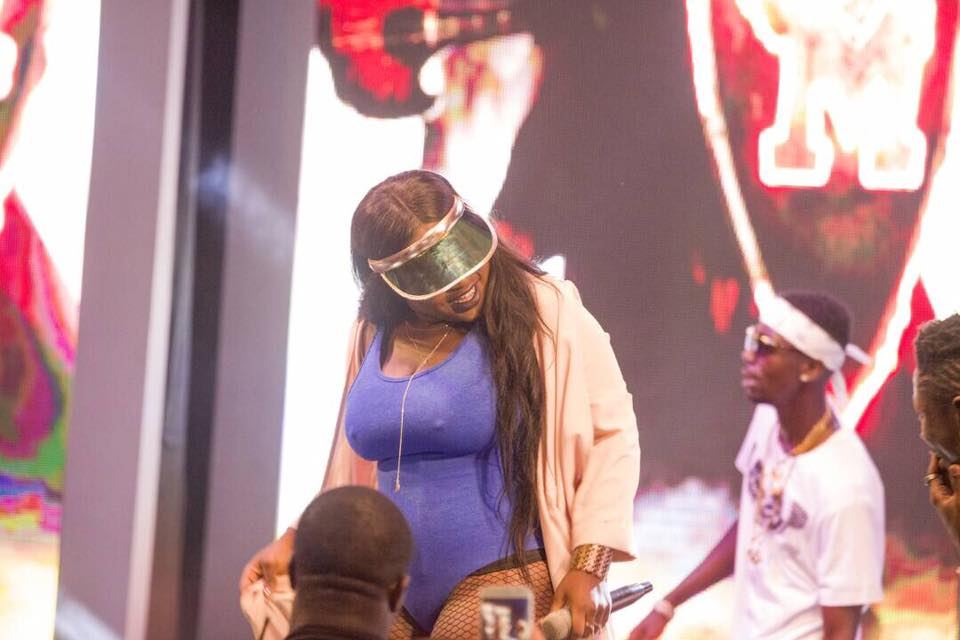 Photos: The moment Sister Afia's N**ples became visible
