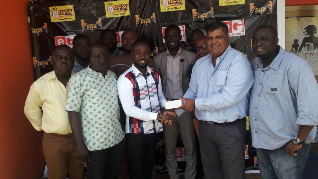 Perry Baka wins Happy FM's 'AGOROHENE' Reality Show