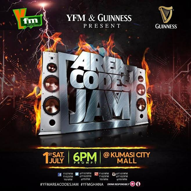 Yfm Takes Area Codes Jam to Kumasi City Mall on Republic Day