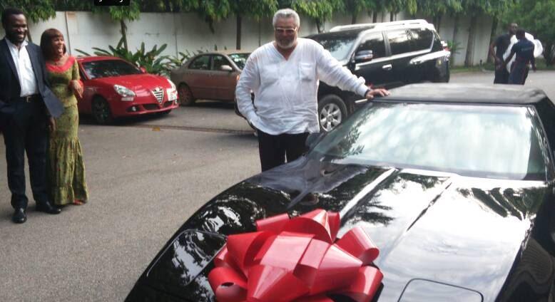 Rawlings @70: 'Papa J' receives surprise gift