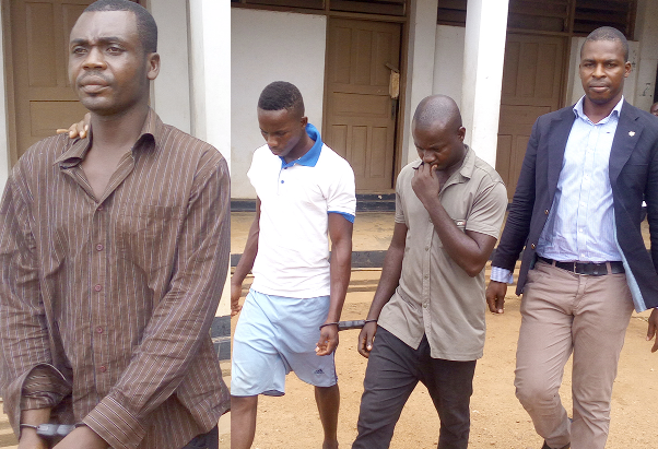 Three more charged for Major Mahama's death