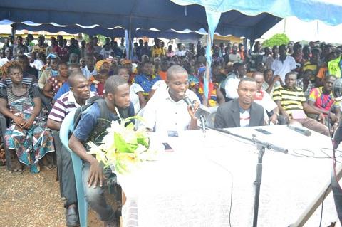 Bring back Stephen Donkor as our DCE - Ellembelle NPP members
