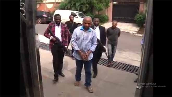 Video: Nigerian kidnapper has properties in Accra; holds Ghanaian passport