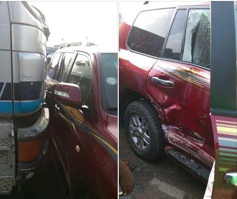 Muntaka Mubarak involved in accident