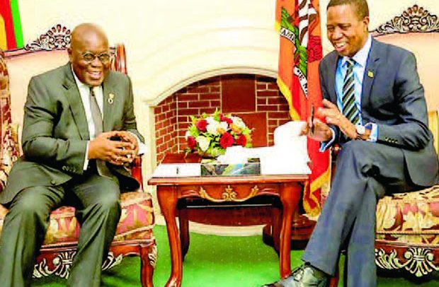 Let's Work Together -Zambian President
