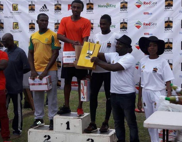 Emmanuel Yeboah shatters Desmond Aryee's treble dream as he wins GNPC Ghana's Fastest Human in Accra
