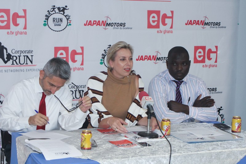 e.TV Ghana & Japan Motors Launches Corporate Run 2017 to Support the Blind