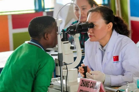 Chinese societies support Akuapem School for the Deaf