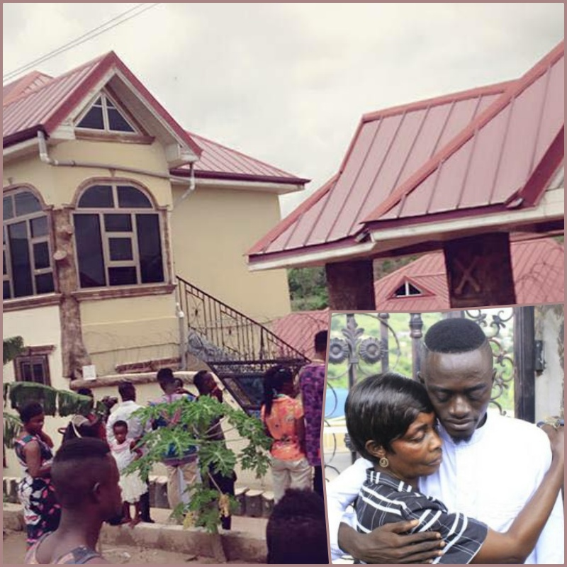 PHOTOS: See the 8-bedroom house Lilwin got his mom on her 70th birthday