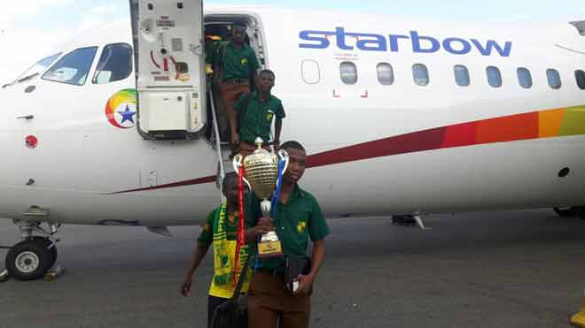 Why Starbow offered to fly Prempeh College to Kumasi for free