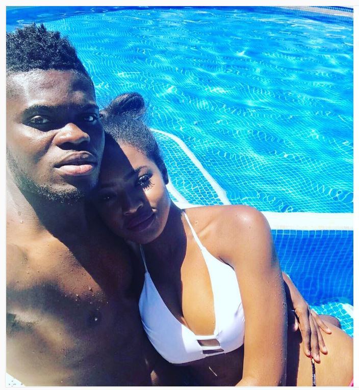 Thomas Partey Shares Hot Holiday Pic With Sensational Wag ...
