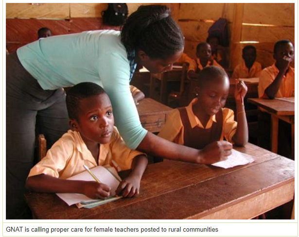 Female teachers in rural communities engaging in 'sex for food'- GNAT