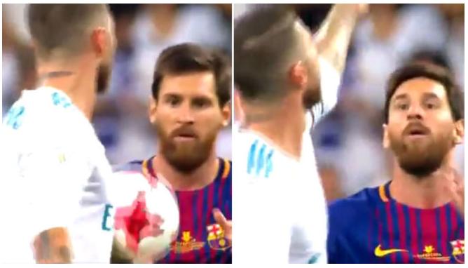 Messi to Sergio Ramos: Motherf**ker