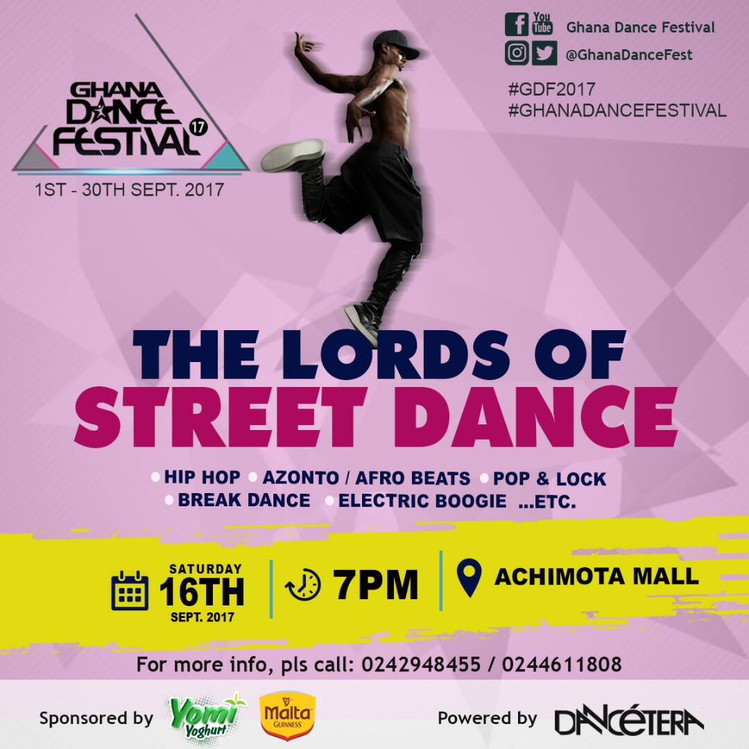 3rd Edition of 'The Lords of Street Dance' Hits Accra on September 16