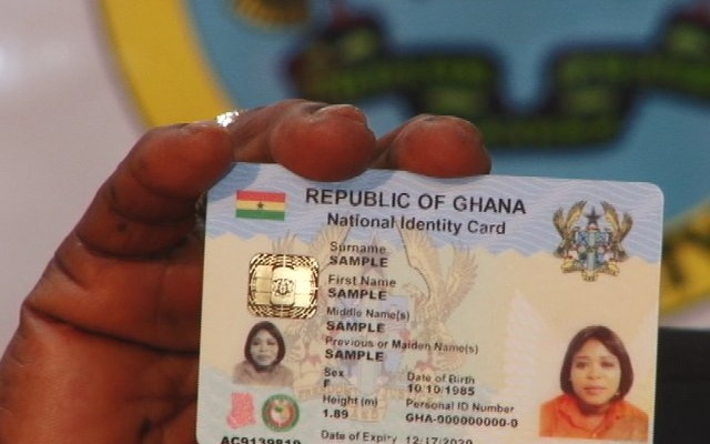 Akufo-Addo picks national ID card today
