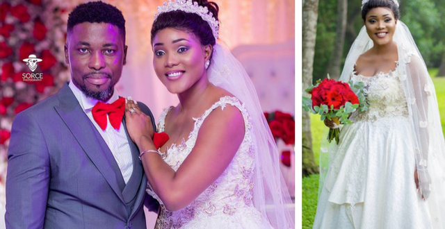 First Pictures From A-Plus & Akosua Vee's Wedding