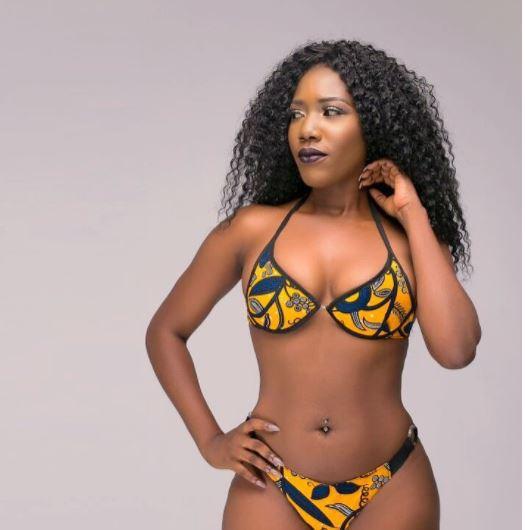 Victoria Lebene flaunts her sexy bikini body