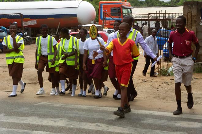 241 Schoolchildren killed in road crashes