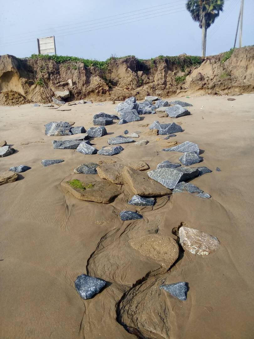Work on sea defence projects stalls