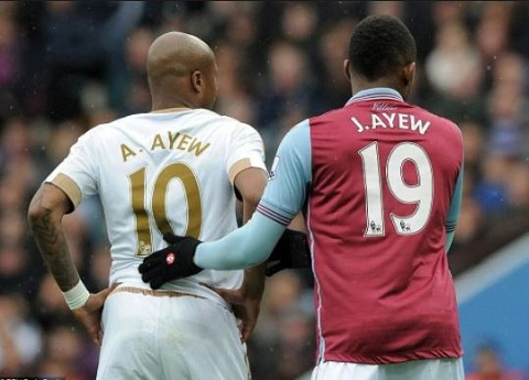 Ayew brothers facing relegation in Premier League