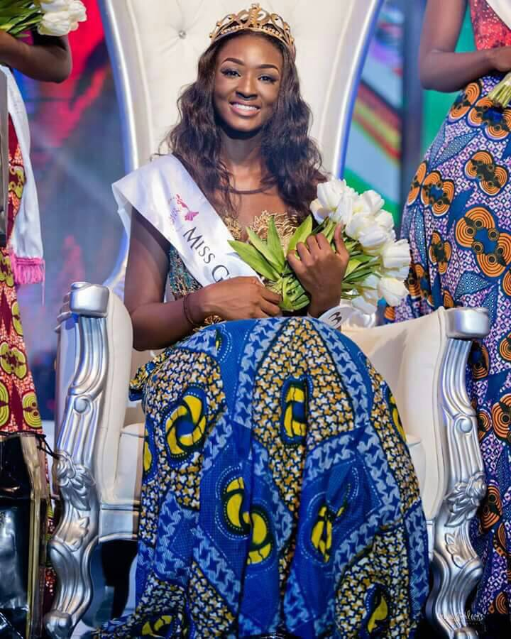 Miss Ghana 2017 winner alleged to be having secret sexual affair with Bawumia's brother