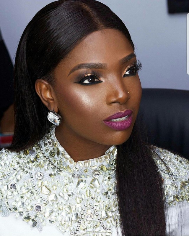 Here's How Annie Idibia Replied A Fan Who Told Her To Stop Wearing Nose Ring