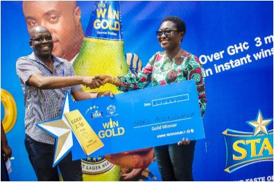 Star Beer Rewards Winners In Star Gold Promo