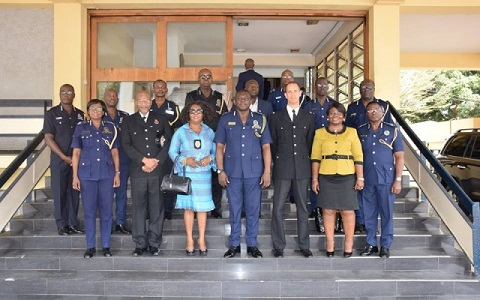 UK police visits Ghana police