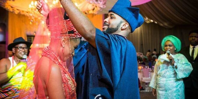 Video: Banky W And Wife Adesua Light Up The Internet With Their Rap Skills