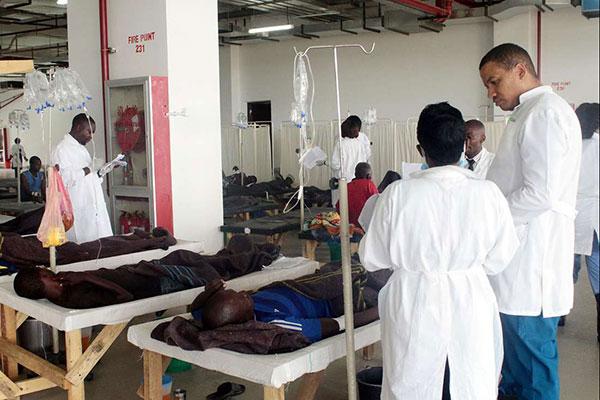 Effects of s*x drugs mistaken for cholera in Zambia