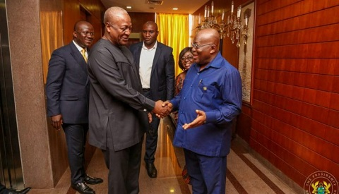I'm busy fixing your mess – Akufo Addo tells Mahama