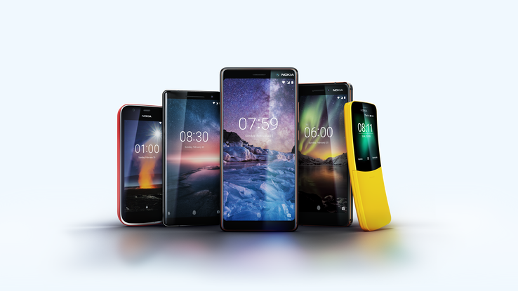 HMD Global unveils new Nokia Android smartphones at Mobile World Congress 2018