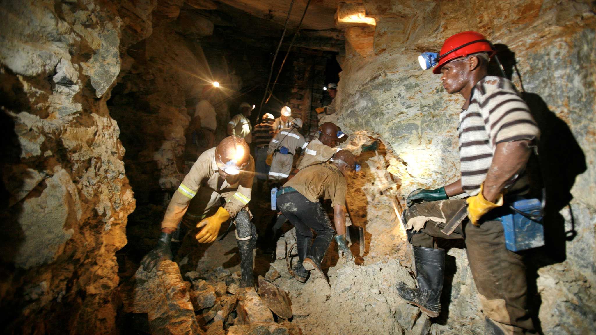 Hundreds Of Miners Trapped Underground In South Africa