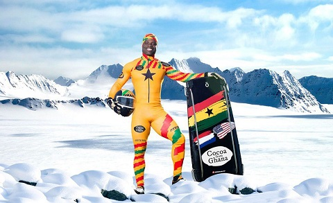 Akwasi Frimpong Ready to Make Ghana Proud as He Makes history in Winter Olympics