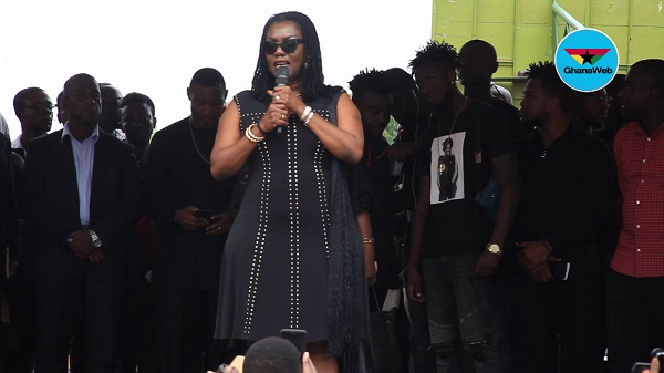 Ursula Owusu apologises over voting comment at Ebony's one week memorial