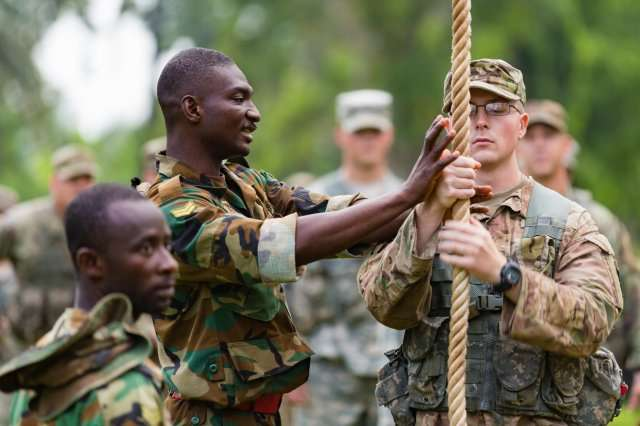 What's in the 2018 Ghana-US military agreement that you can't find in a 1998 document