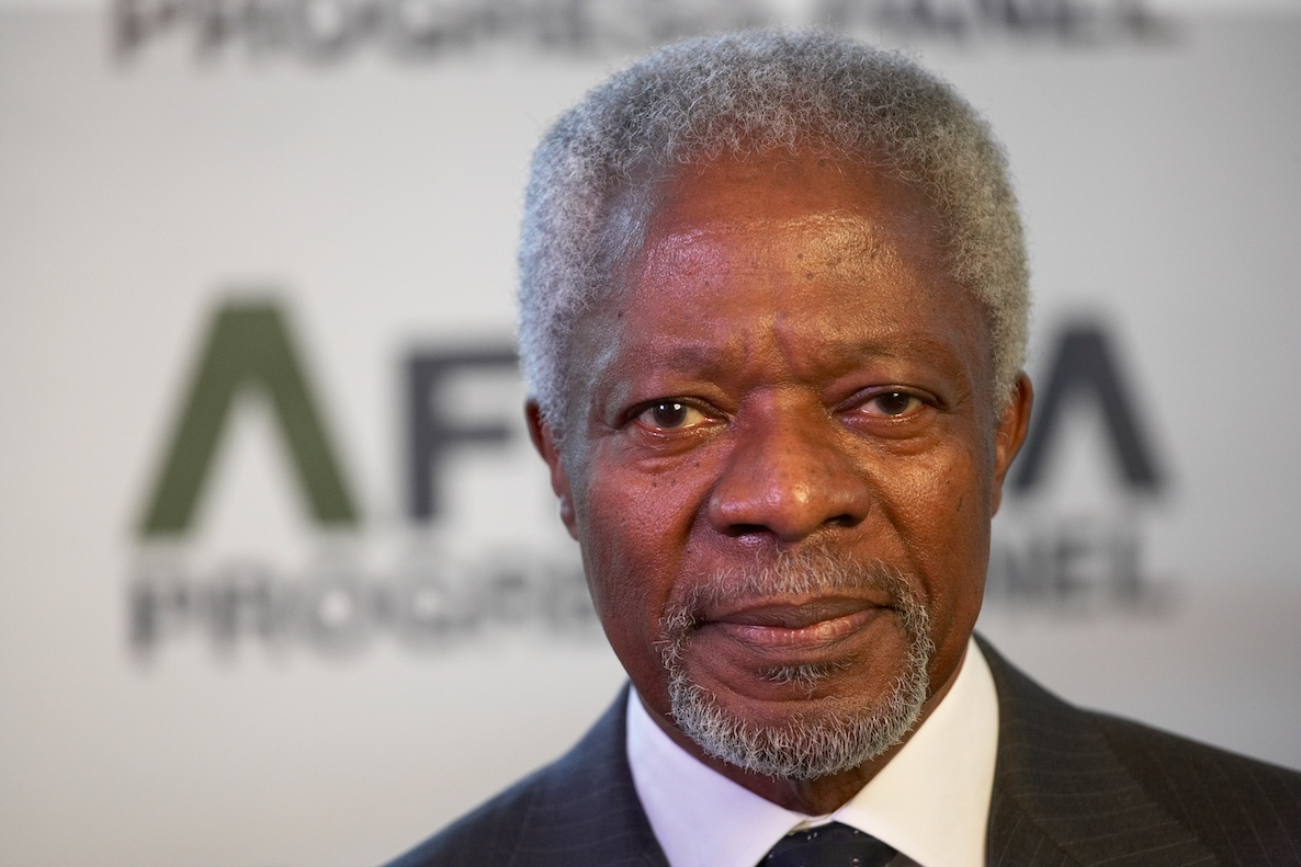 GHALCA to name StarTimes Cup after the late Kofi Annan?
