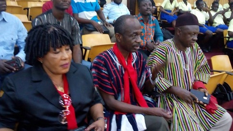 NDC leaders storm Parliament; Minority in red over 'military base' debate