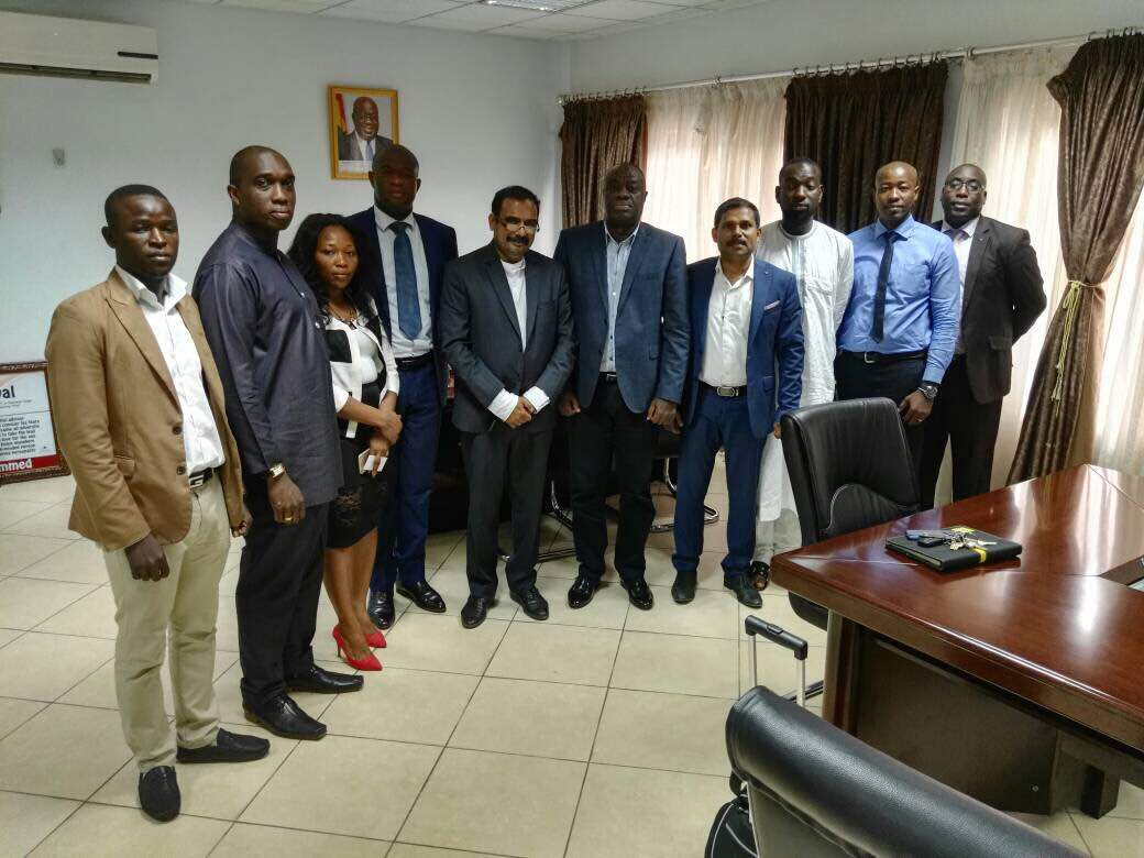 GGCC Calls On Business Development Minister