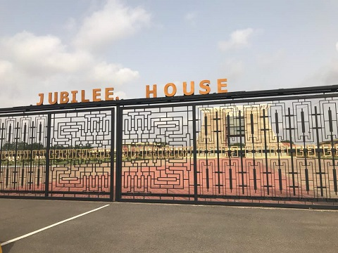 "Photos: The seat of Government ""Flagstaff House"" has been renamed back to ""Jubilee House"""