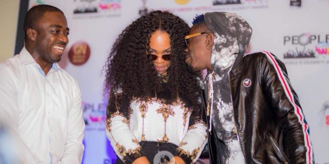 Shatta Wale and Shatta Michy caught on Camera in a deep French Kiss